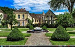 フォントネーの シトー会修道院 - フランス 世界遺産 写真・壁紙集