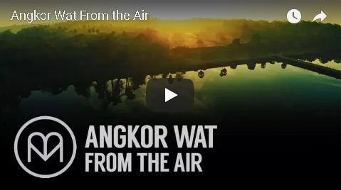 ドローンで空から見るアンコールワットの全貌 - リビングルームで旅する世界の絶景動画1000