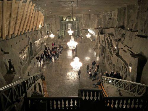 【ポーランド旅行】世界遺産に最初に登録された12件のうちの1つ ヴィエリチカ岩塩坑
