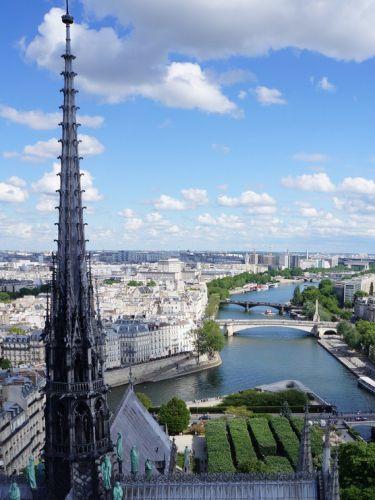 """""""【世界遺産】パリのノートルダム大聖堂"""""""