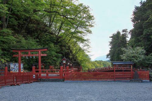新緑の世界遺産日光 その3 夕暮れの神橋