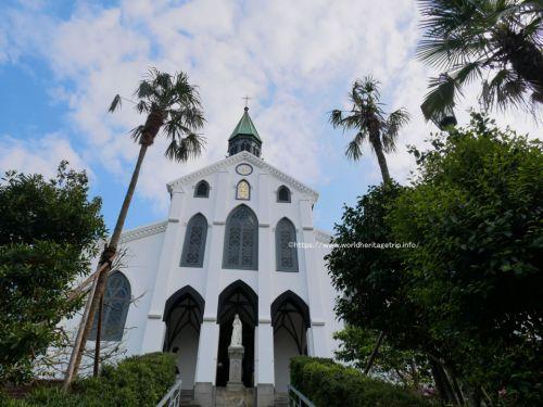 長崎旅行ブログその3!大浦天主堂は青空に映えて綺麗でした(世界遺産旅行記)