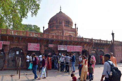 インドの旅~⑭世界遺産 タ-ジ・マハル廟