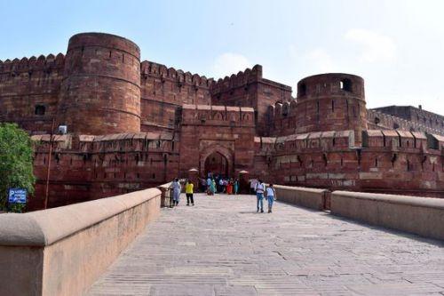 インドの旅~⑯世界遺産・アグラ城
