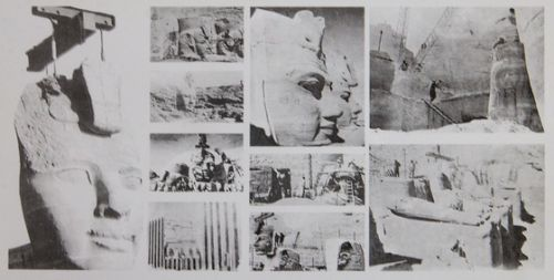 エジプト紀行 その63 世界遺産「アブ・シンベル神殿」内部
