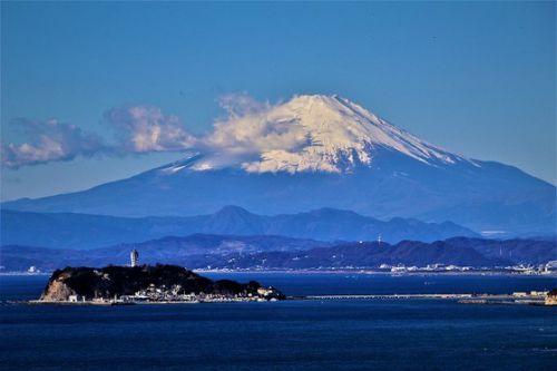 新ブログ投稿「年の瀬の湘南で富士山を:その3」