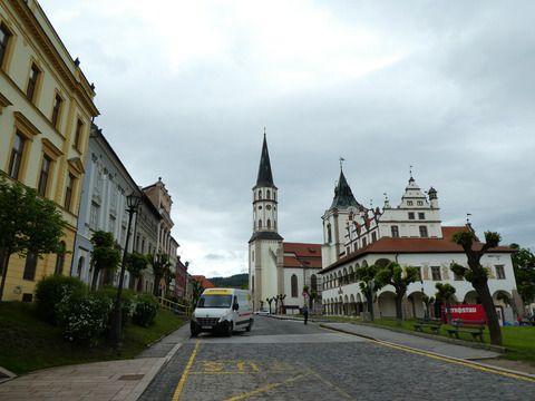 週末スロバキア その6 世界遺産の街、Levoca。