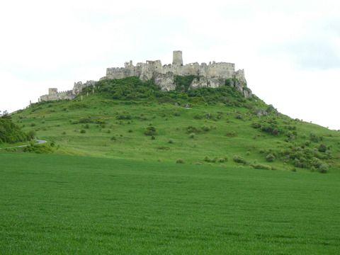 週末スロバキア その7 美しい廃墟の城、世界遺産、スピシュ城☆