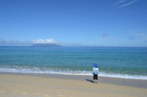 やっぱり子供は水遊びが一番たのしいみたい!【屋久島里めぐり観光ツアー】