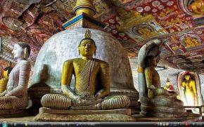 ダンブッラの黄金寺院 - スリランカ  世界遺産 写真・壁紙集
