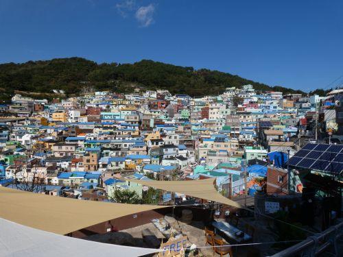 甘川文化村へ【釜山のマチュピチュ!?】 - トラベラーグラムの海外ブログ ※毎日更新中