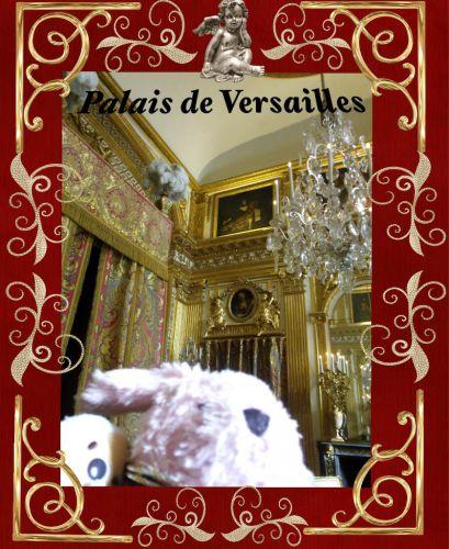ヴェルサイユ宮殿 国王の寝室!ハネムーン旅行記2014 フランス&イタリア♪ - インド舞踊!絵画モデルで活躍中のねことぬいぐるみの人形劇ブログ♪ ねこのピンクハッピーライフ