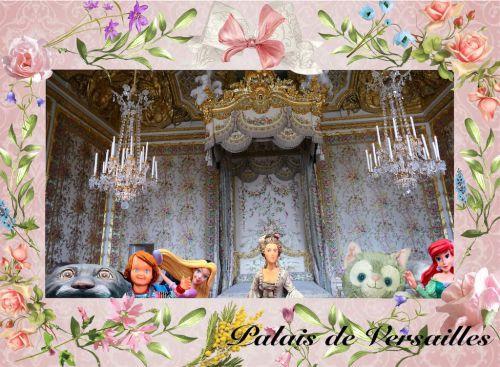 ヴェルサイユ宮殿 マリーアントワネットの寝室!!ハネムーン旅行記 2014  フランス&イタリア♪ - インド舞踊!絵画モデルで活躍中のねことぬいぐるみの人形劇ブログ♪ ねこのピンクハッピーライフ