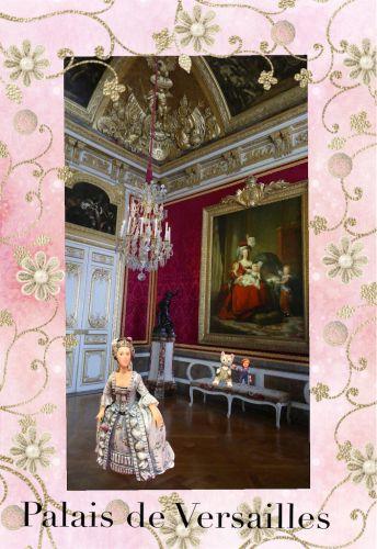 ヴェルサイユ宮殿 肖像画とタペストリーのある部屋♪ハネムーン旅行記2014 フランス&イタリア♪ - インド舞踊!絵画モデルで活躍中のねことぬいぐるみの人形劇ブログ♪ ねこのピンクハッピーライフ