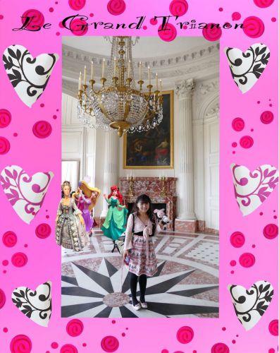 ヴェルサイユ宮殿 グラントリアノン ハネムーン旅行記2014 フランス&イタリア♪ - インド舞踊!絵画モデルで活躍中のねことぬいぐるみの人形劇ブログ♪ ねこのピンクハッピーライフ