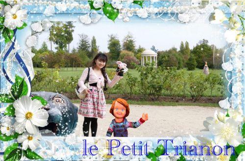 ヴェルサイユ宮殿 愛の殿堂 ハネムーン旅行記2014 フランス&イタリア♪ - インド舞踊!絵画モデルで活躍中のねことぬいぐるみの人形劇ブログ♪ ねこのピンクハッピーライフ