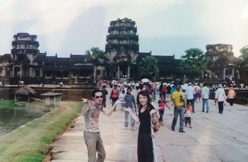いよいよ!世界三大仏教遺跡アンコール・ワット観光!/カンボジア旅行2008/2日目②