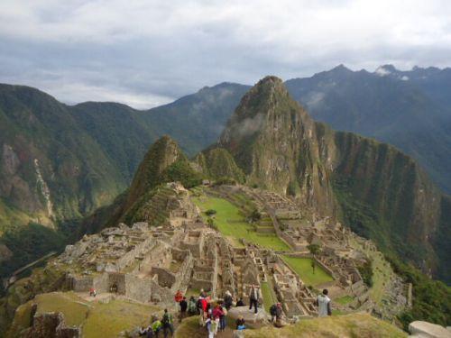 【神々しい雰囲気】早朝のマチュ・ピチュ (Machu Picchu)