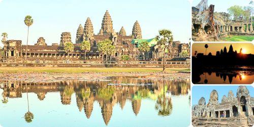 カンボジア旅行記!世界遺産アンコールワットとおすすめ観光スポット