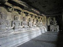 インド世界遺産紀行32 エローラ石窟寺院6 12窟3