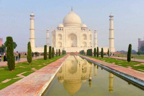 """【世界遺産】愛の墓廟""""タージ・マハル""""。シャー・ジャハーンの愛の強さがすごすぎた。"""